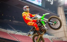 FXR, sur la scène internationale en Supercross